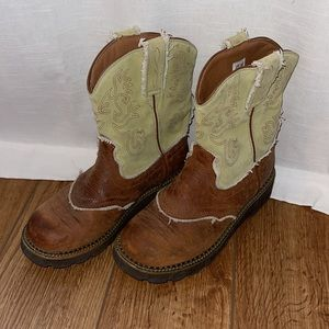 Ariat Fat Baby Western Size 7.5B Boots